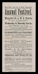 Mountfort St. A.M.E. Church [Broadside] by USM Special Collections