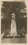 Etretat Monument Postcard