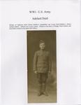 WWI - U.S. Army: Adelard Dutil