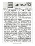 In the Affirmative, Vol.1, No.1 (Dec 1993)