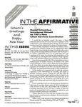 In the Affirmative, Vol.5, [No.11] (Mid-December 1998/Mid-January  1999)