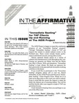 In the Affirmative, Vol.6, No.1 (Mid-January/Mid-February 1999)