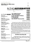 In the Affirmative, Vol.6, No.5 (Mid-May/Mid-June 1999) by Mick Martin and The AIDS Project