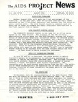 The AIDS Project News (August 1986) by The AIDS Project