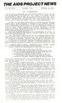 The AIDS Project News (October 1986) by The AIDS Project