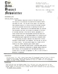 The AIDS Project Newsletter (September 1987)