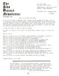 The AIDS Project Newsletter (September 1988)