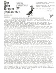 The AIDS Project Newsletter (December 1988) by David Ketchum and The AIDS Project