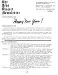 The AIDS Project Newsletter (January / February 1989)