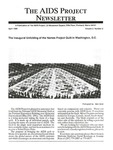 The AIDS Project Newsletter, Vol.2, No.2 (April 1989) by David Ketchum and The AIDS Project
