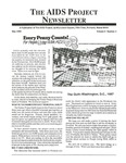 The AIDS Project Newsletter, Vol.2, No.3 (May 1989) by David Ketchum and The AIDS Project