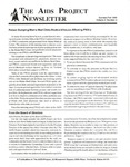 The AIDS Project Newsletter, Vol.3, No.2 (Summer/Fall 1990) by John Moore and The AIDS Project