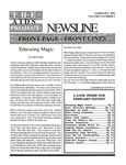 The AIDS Project Newsline, Vol.5, No.1 (February 1992) by Jeffrey Levensaler, Amanda Coffin, and The AIDS Project