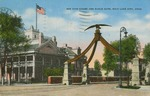 Bee Hive House and Eagle Gate Postcard by Albert Mailhot