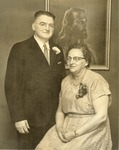 Ted and Gertrude Bisson Photograph by Franco-American Collection