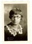 Gertrude Thiel Photograph (1928)