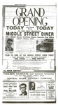 Middle Street Diner Advertisement by Franco-American Collection
