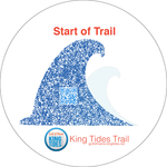 King Tide Art-Sidewalk Graphic
