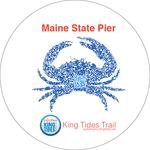 King Tide Art-Sidewalk Graphic by Kristyn Peterson