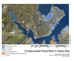 Compounded Flood Risk in Casco Bay by Nathan Broaddus