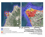 Compounded Flood Risk Chebeague Island 2100 by Nathan Broaddus