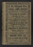 1918-1919 Resident and Business Directory of Androscoggin County Maine