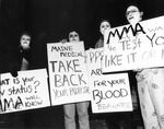 ACT UP Vampires and Mock Blood Drive – February, 1993