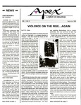 Apex : A Point of Departure, Vol.1, No.08 (September 1992) by Annette Dragon, Naomi Falcone, Diane Matthews, and Madeleine Winter