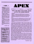 Apex : A Point of Departure, Vol.3, No.10 (Winter 1994/1995)