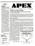 Apex : A Point of Departure, Vol.4, No.01 (February 1995)