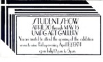 Student Show (1974) by USM Art Department