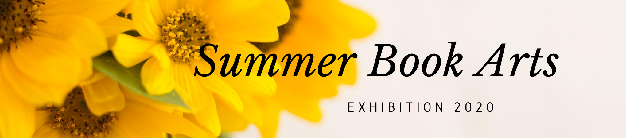 Summer Book Arts Exhibition 2020