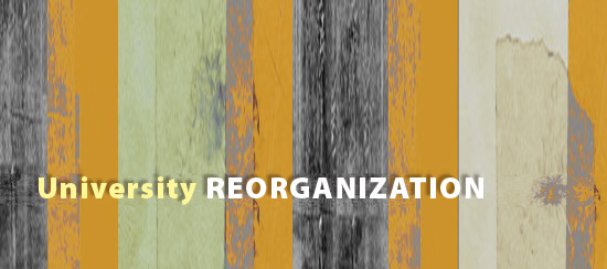 University Reorganization