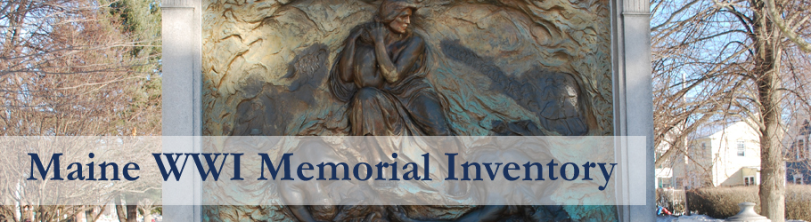 Maine World War I Memorial Inventory