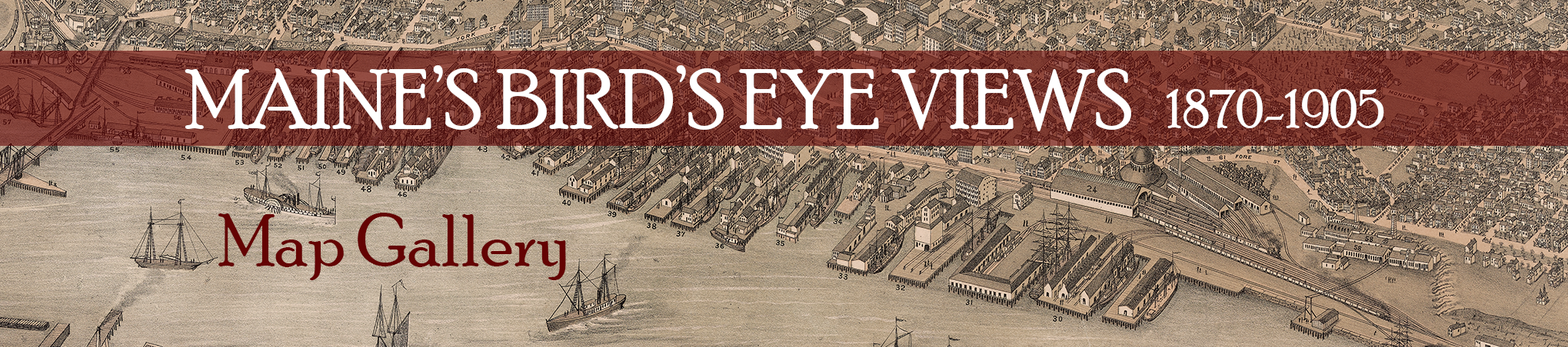Bird's Eye View Map Gallery