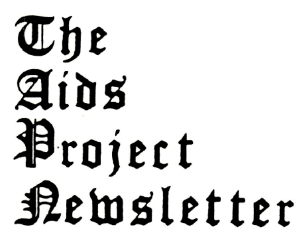 The AIDS Project Newsletter