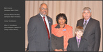 Bob Greene (Sampson Board Chair), Victoria Mares-Hershey (Sampson Board Member), Zoosa Sockabasin, Allen J. Sockabasin (2010 Sampson Catalyst for Change Award Winner)