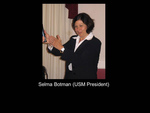 Selma Botman (USM President)