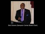 Bob Greene (Sampson Center Board Chair)