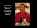 Ida Gammon-Wilson (African American Collection Advisory Committee Member)