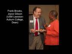 Frank Brooks, Joyce Gibson (USM Lewiston-Auburn College, Dean)