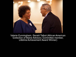 Valerie Cunningham, Gerald Talbot (African American Collection Advisory Committee Member, Lifetime Achievement Award Winner)