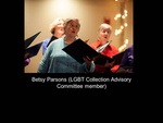 Betsy Parsons (LGBT Collection Advisory Committee Member)