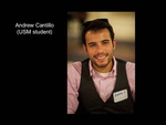 Andrew Cantillo (USM Student)