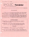 BAGLSC Newsletter, Vol.1, No.2 (October 1984)