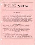 BAGLSC Newsletter, Vol.1, No.2 (October 1984) by Lee K. Nicoloff, Richard Forcier, and Bangor Area Gay Lesbian Straight Coalition