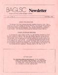 BAGLSC Newsletter, Vol.2, No.2 (April/May 1985)