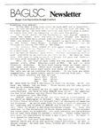 BAGLSC Newsletter ([1988]) by Lee K. Nicoloff, Richard Forcier, and Bangor Area Gay Lesbian Straight Coalition