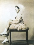 "Theresa Monique ""Monica"" Lowell Bodily Photograph by Franco-American Collection"
