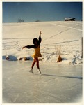 Betty Olson Ice Skating Photograph by Franco-American Collection